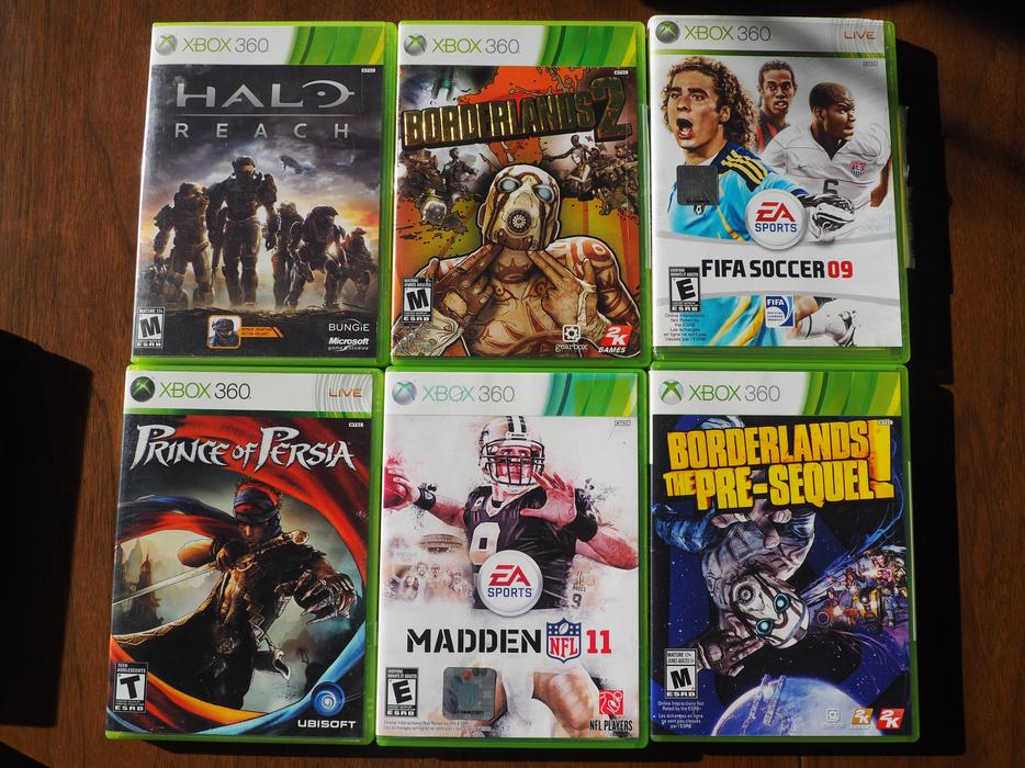 $5 · XBOX 360 games - $5 each or trade for kid friendly games
