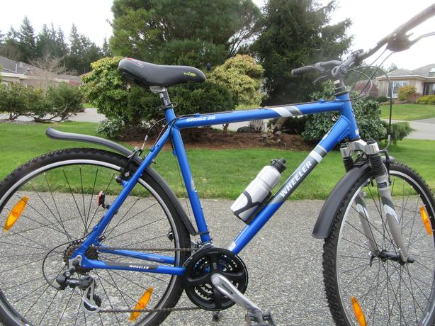 Wheeler cross 26 hybrid bike