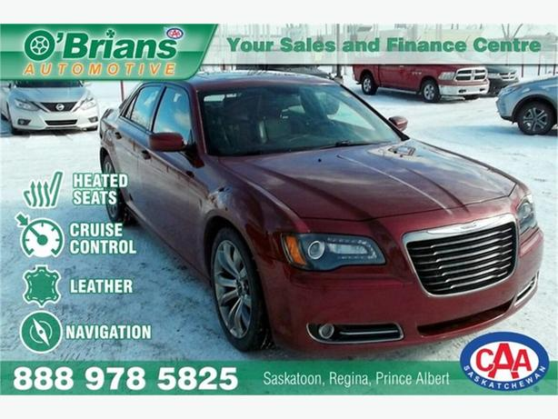 2014 Chrysler 300 S w/Leather, Nav