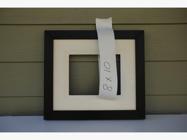 """8"""" x 10"""" Picture Frame (mahogany with liner #2010-047)"""