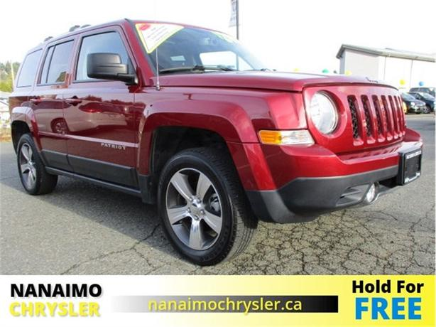 2016 Jeep Patriot High Altitude One Owner Low Kilometers