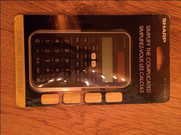Sharp Calculator