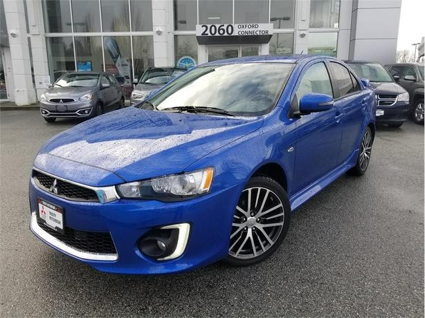 2016 Mitsubishi Lancer GTS AWC PREMIUM PKG, HEATED LEATHER SEATS, SUNROOF