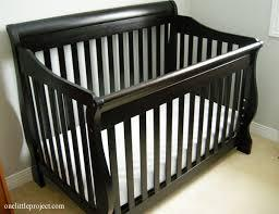 4 In 1 Convertible Crib Shermag Preston Crib In Espresso