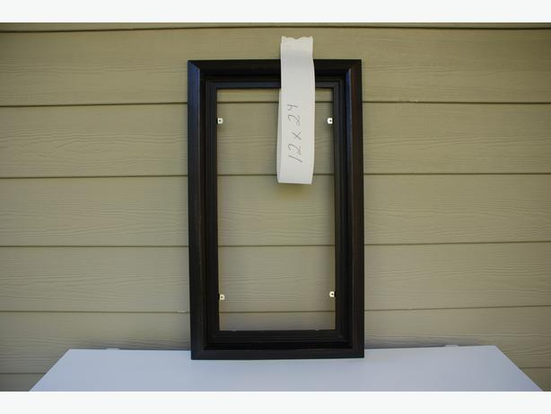 "12"" x 24"" Picture Frame For Sale (black float #2012-046)"