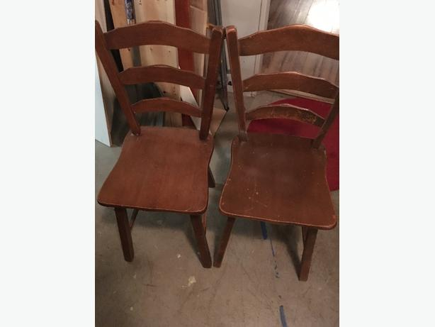 Set Of Four Vilas Dining Room Chairs