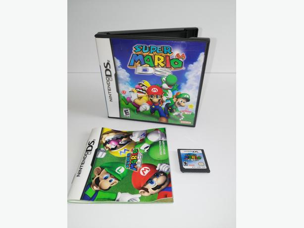 Super Mario 64 For The Nintendo DS