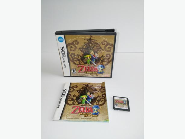 Zelda Phantom Hourglass For The Nintendo DS