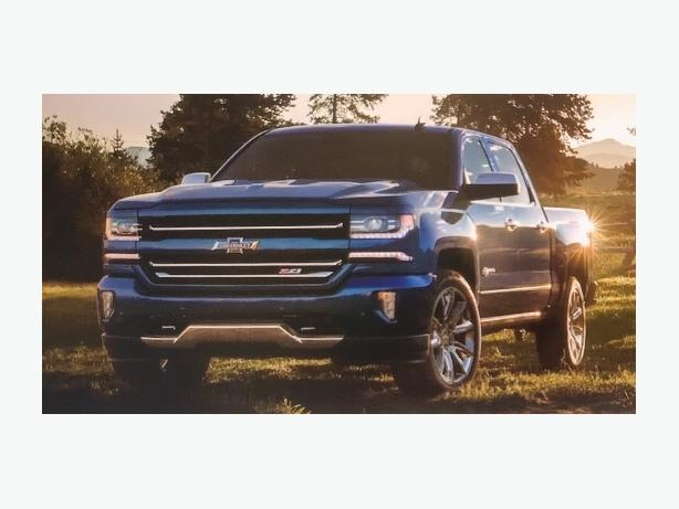 Vancouver Island's Only 2018 Centennial Blue Silverado is Arriving!!!