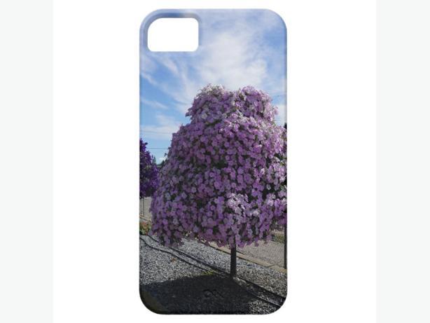 Petunia Tree at The Greenery in Kelowna iPhone 5 Case, NEW Giftable