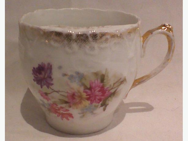Silesian Germany mustache/moustache cup