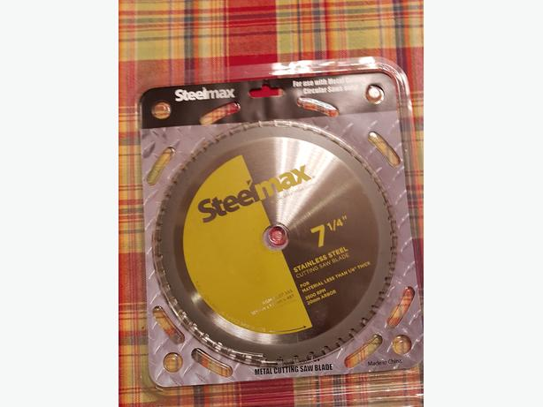 """Steelmax 7 1/4"""" TCT Blade for Stainless Steel"""