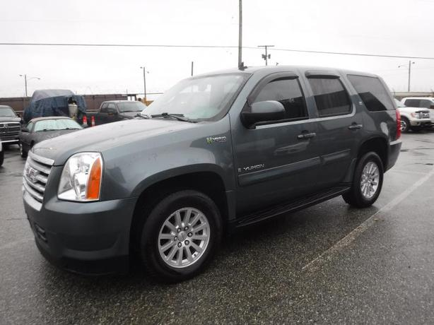 2009 GMC Yukon Hybrid 4WD 2 Mode 3rd Row Seating