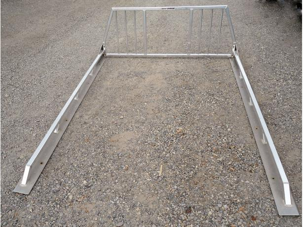 WESTCAN ALUMINUM HEADACHE / LADDER RACK WITH RAILS