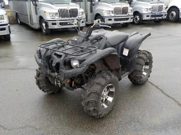 2014 Yamaha Grizzly 700 EPS Limited Edition ATV 4WD