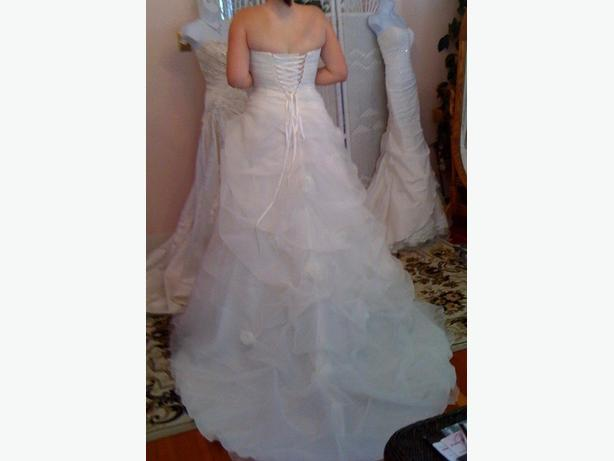 WEDDING DRESS (NEW) FUNDS TO GO TO CHARITY