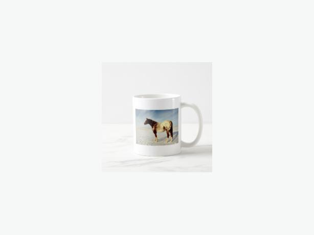 Winter Horse Coffee Mug, NEW, Great Gift for the horse fan