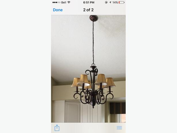 Two Chandiliers Available