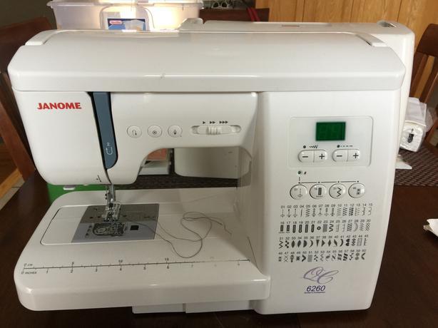 Janome 6260 Sewing Machine