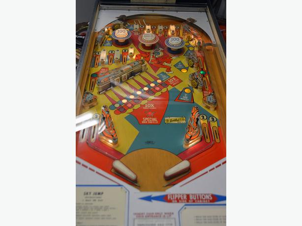 Pinball Game Sky Jump West Shore Langfordcolwoodmetchosin