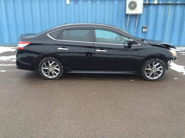 2013 NISSAN SENTRA SR, 3995/ 6995 REPAIRED WITH WARRANTY