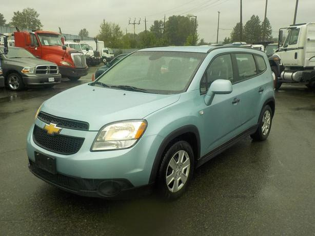2013 Chevrolet Orlando LS 3rd Row Seating