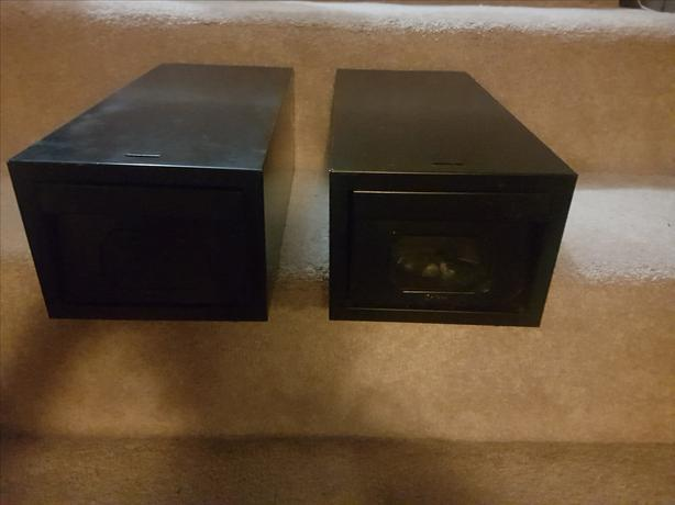 2 Steel Card File Drawers / Cabinets (Black)