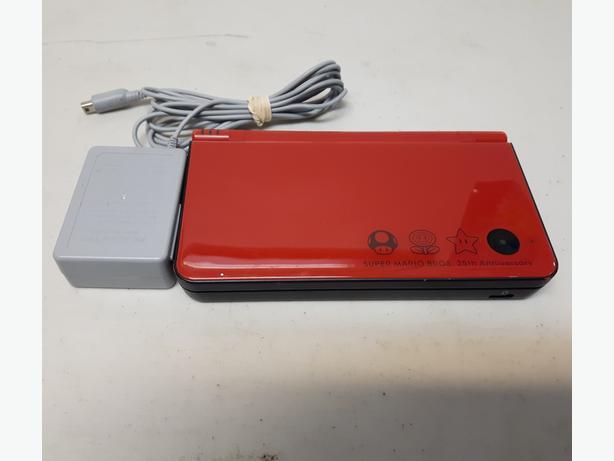 Red Super Mario Bros 25th Anniversary Edition Nintendo DSi XL System