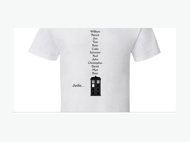 Custom Doctor Who T -Shirt