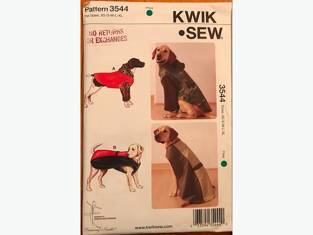 DOG COAT SEWING PATTERNS West Shore: Langford,Colwood,Metchosin ...