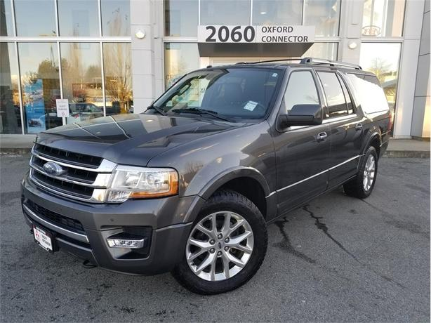 2017 Ford Expedition LIMITED MAX 8 PASSENGER NAVIGATION SUNROOF