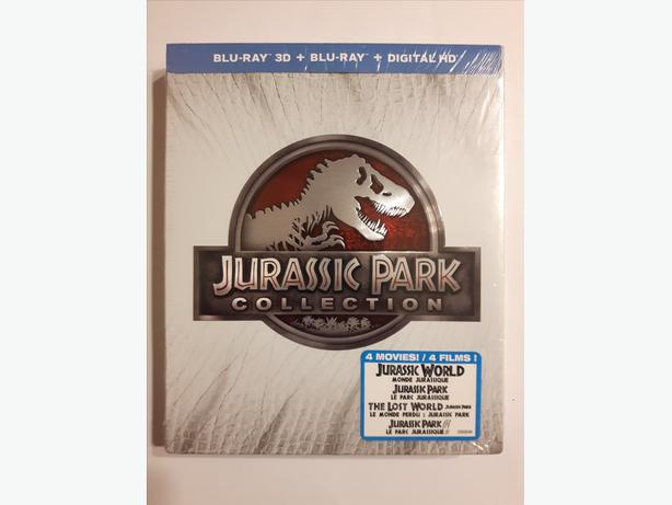 Jurassic Park Collection on Blu-ray - Brand New