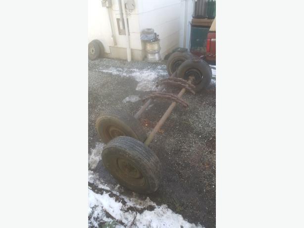 2 3500 lb axles