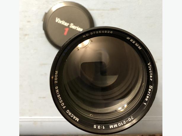 VIVITAR Series 1 Lens 70-210mm f3 5 SLR MD SR Minolta mount
