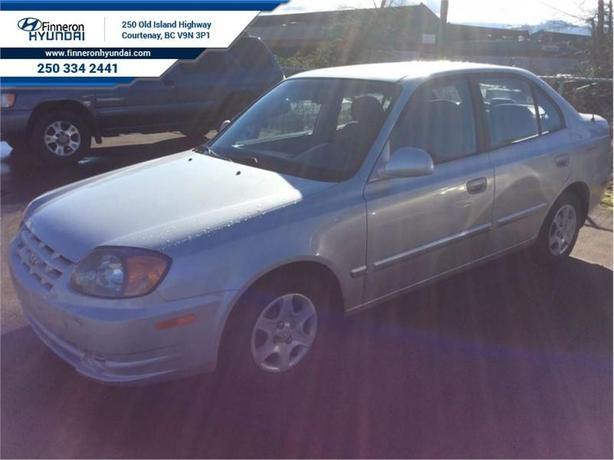 2003 Hyundai Accent GL  - trade-in