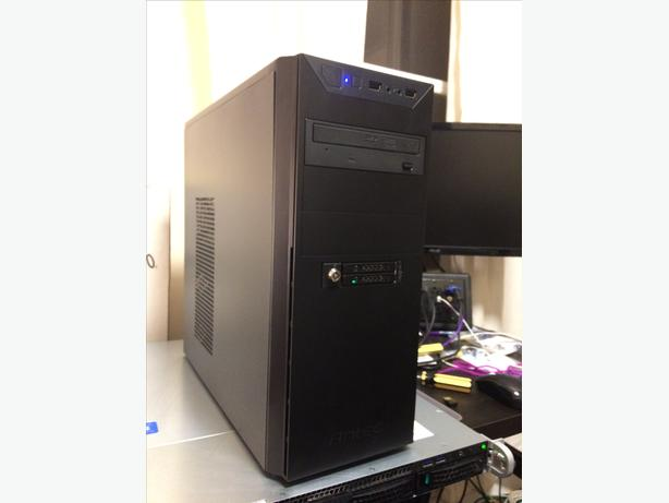Intel PC in new case & PSU (Core 2 Duo E6600, Windows 10 Pro / 4Gb RAM)