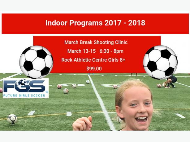 March Break Shooting Clinic Program Oakville