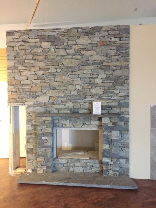 Super 1 100 Fireplace Brick Mantle And Large Stone Base Home Interior And Landscaping Synyenasavecom