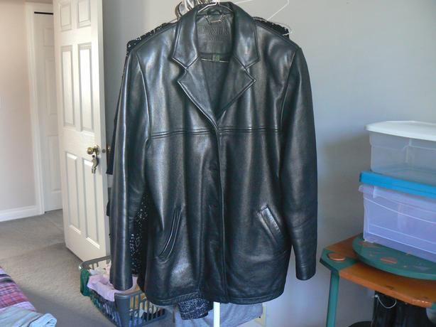 Danier Leather Car-Coat Style Jacket