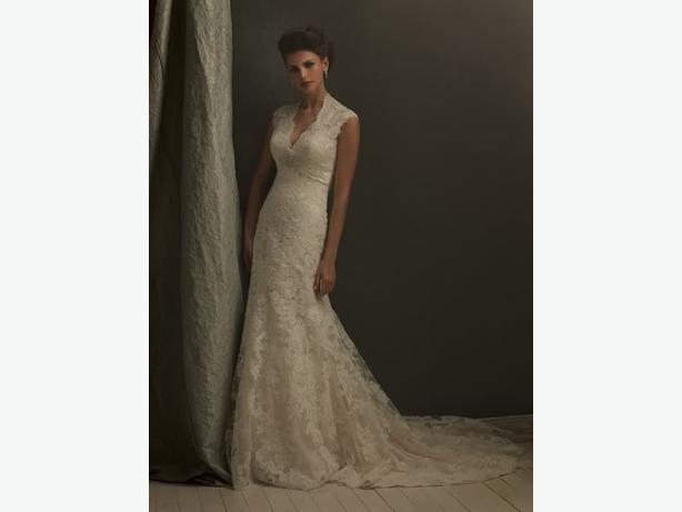 NEW - FIT & FLARE WEDDING DRESS