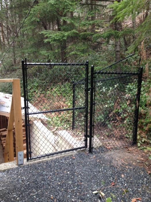 Chain Link Ornamental And Wood Fence Installation West