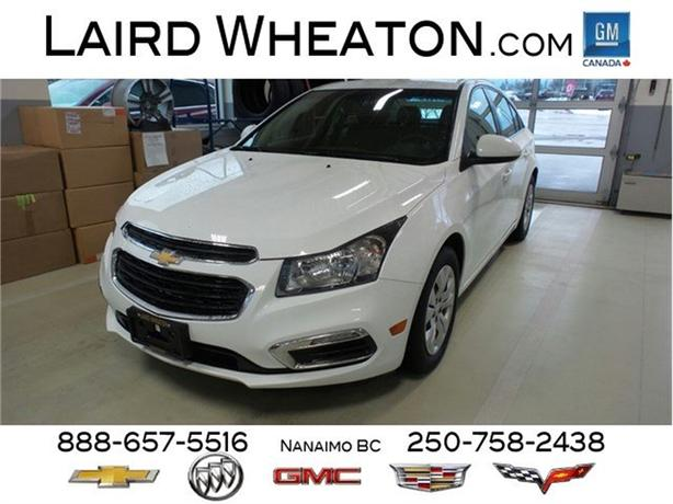 2015 Chevrolet Cruze LT, Automatic, Back-Up Camera
