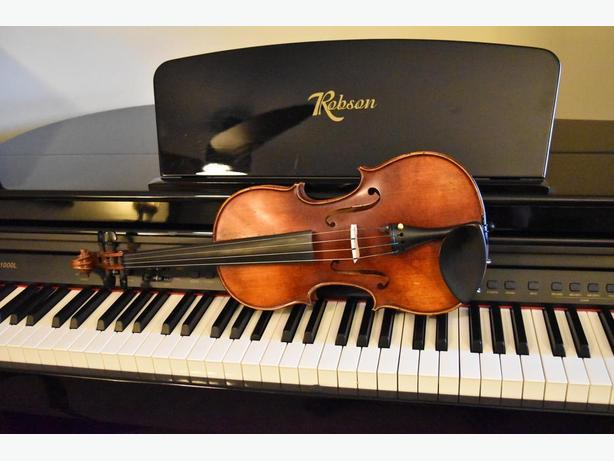 Music lessons for violin, cello, piano and classic guitar