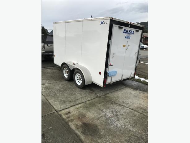 Royal enclosed cargo trailer Outside Victoria, Victoria