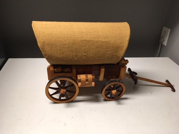 Hade make Western wagon chuck wagon model  23 inches