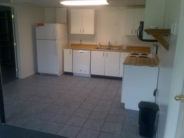 Walkout basement apartment for rent