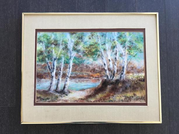 Evelyn O Phelan's framed painting