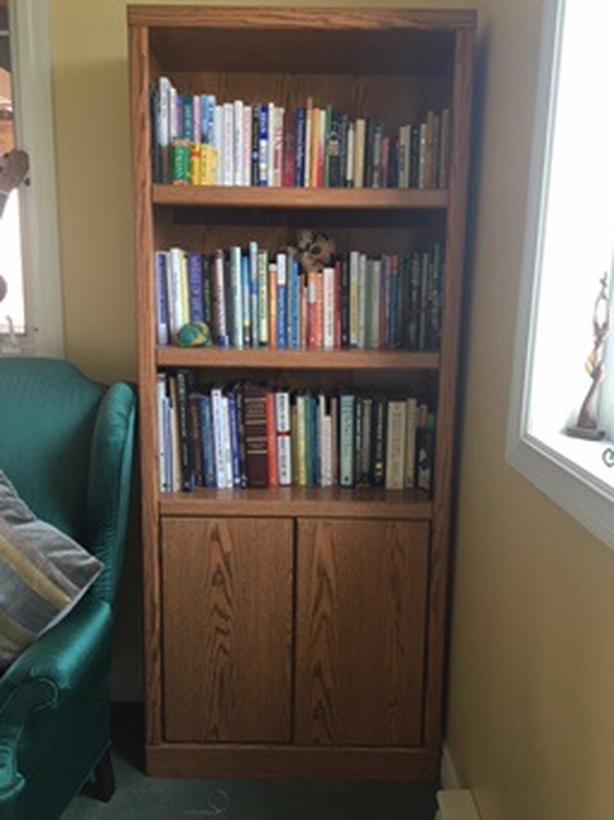Wood Bookshelf Dimensions Are 72 Inches High By 30