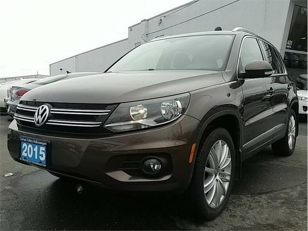 2015 Volkswagen Tiguan 2.0T Highline w/Technology Package