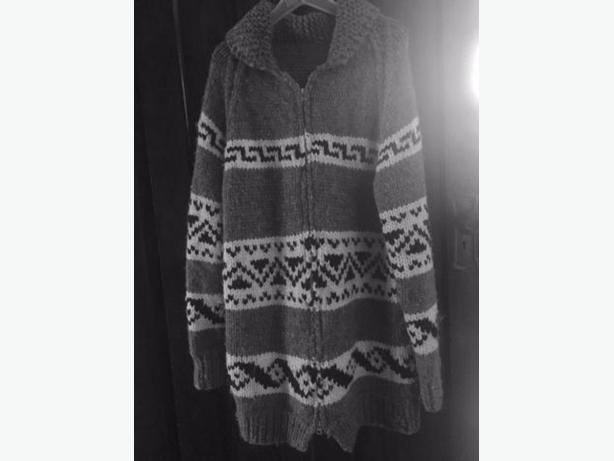 jacket, Icelandic, hand knit